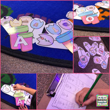 Puddle Jumper: Spring Math and Literacy Centers