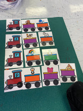Beginning Sounds Trains