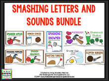 Smashing Letters and Sounds BUNDLE!