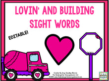 Lovin' and Buildin' Sight Words