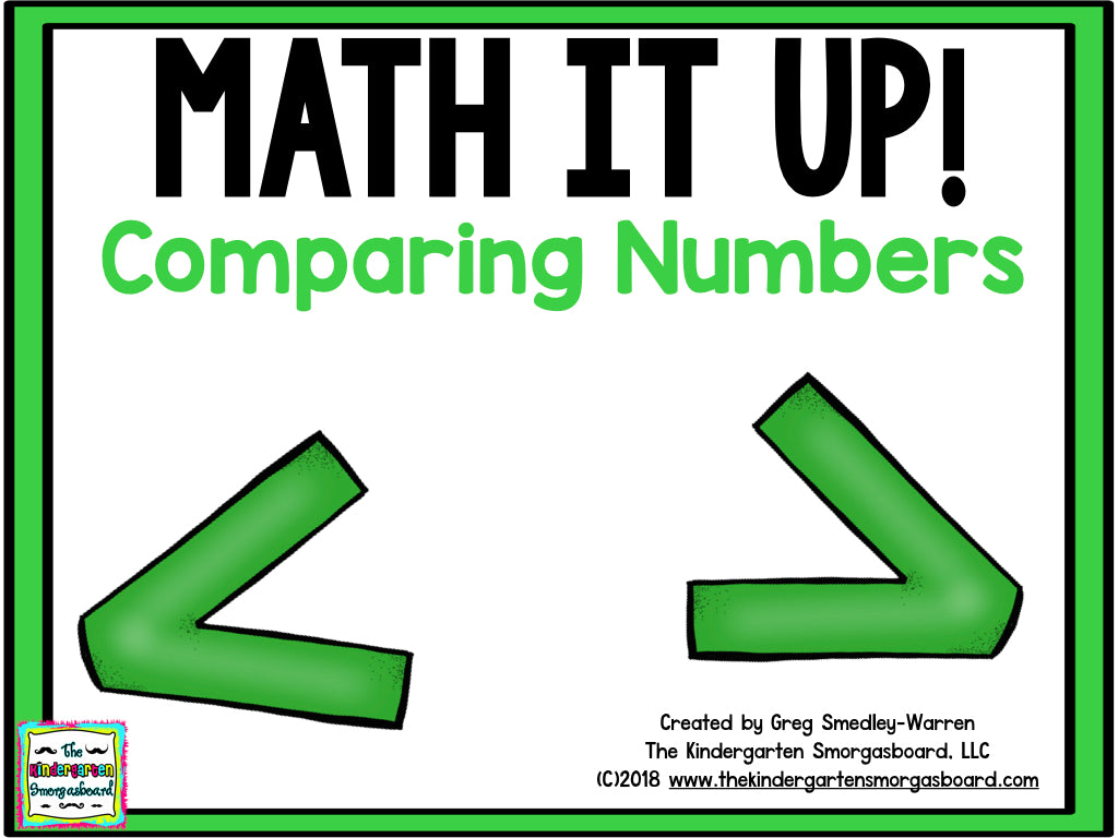 Math It Up! Comparing Numbers (Greater Than/Less Than)