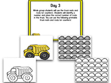 Math It Up! Counting With Trucks