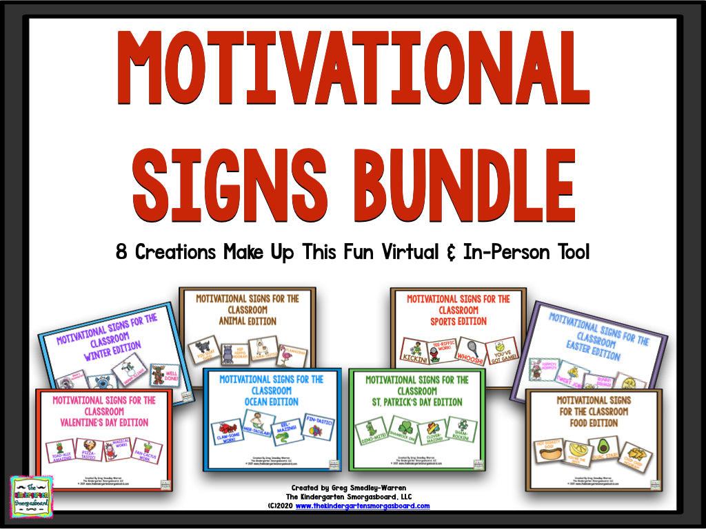 Motivational Signs BUNDLE