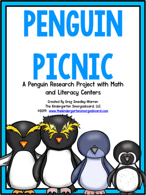 Penguins: A Research and Writing Project PLUS Centers!