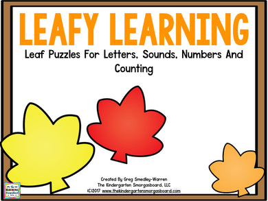 Leafy Learning: Letters, Sounds, Numbers & Counting