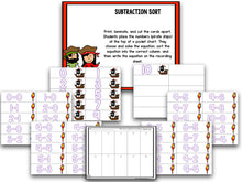 Pirate Addition and Subtraction BUNDLE!