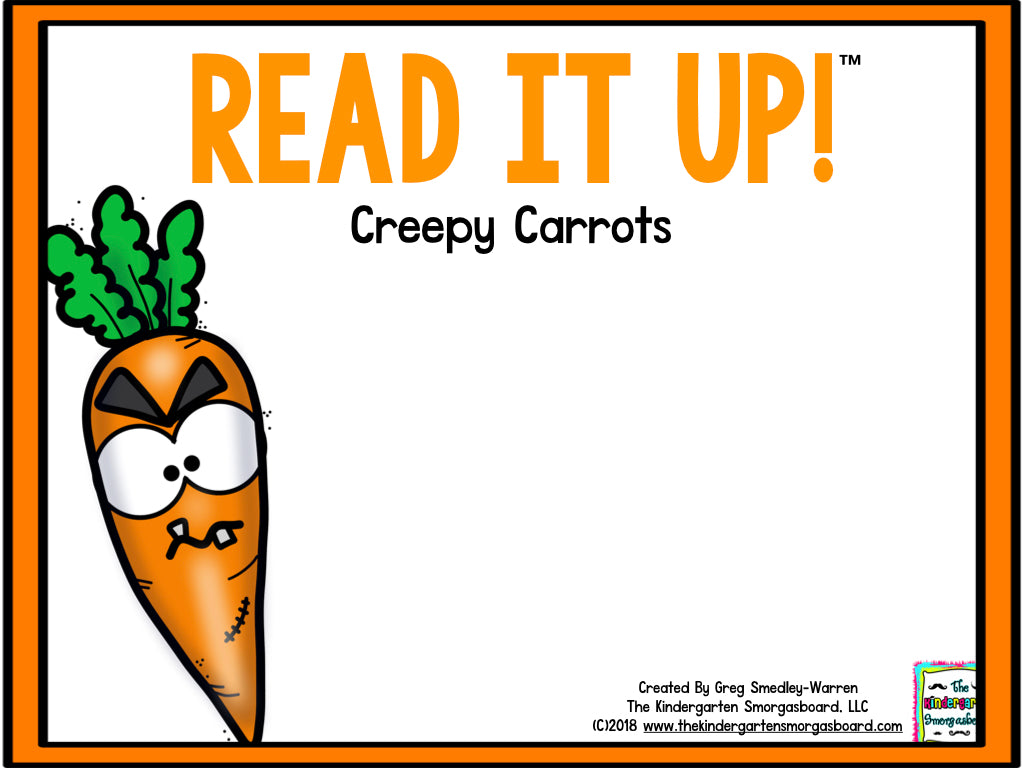 Read It Up! Creepy Carrots