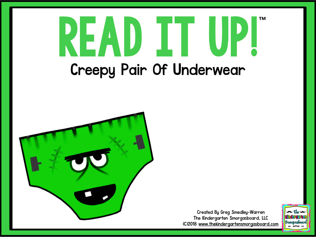 Read It Up! Creepy Pair of Underwear