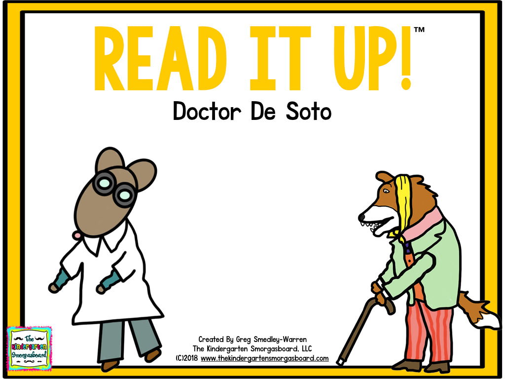 Read It Up! Doctor De Soto