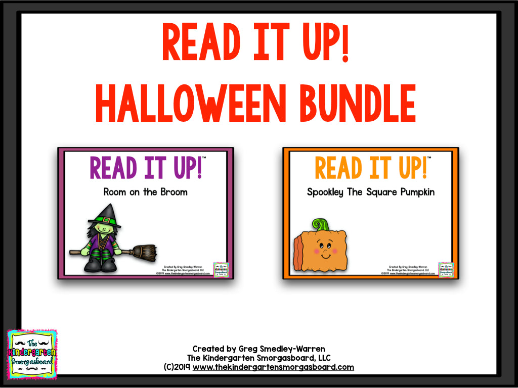 Read It Up! Halloween Bundle