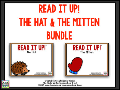 Read It Up! The Hat & The Mitten Bundle