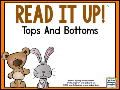 Read It Up! Tops and Bottoms