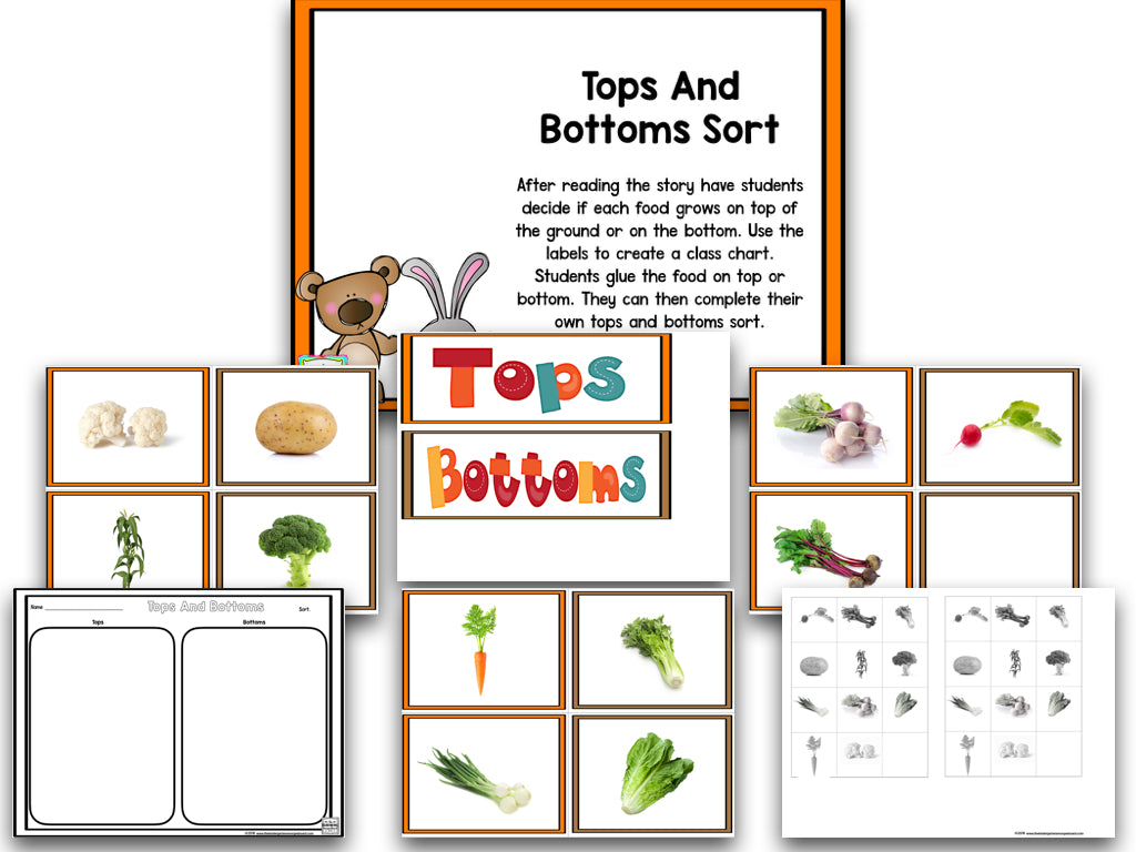 Read It Up Tops And Bottoms The Kindergarten Smorgasboard Online