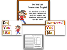 Scarecrow Math, Literacy and Writing Pack