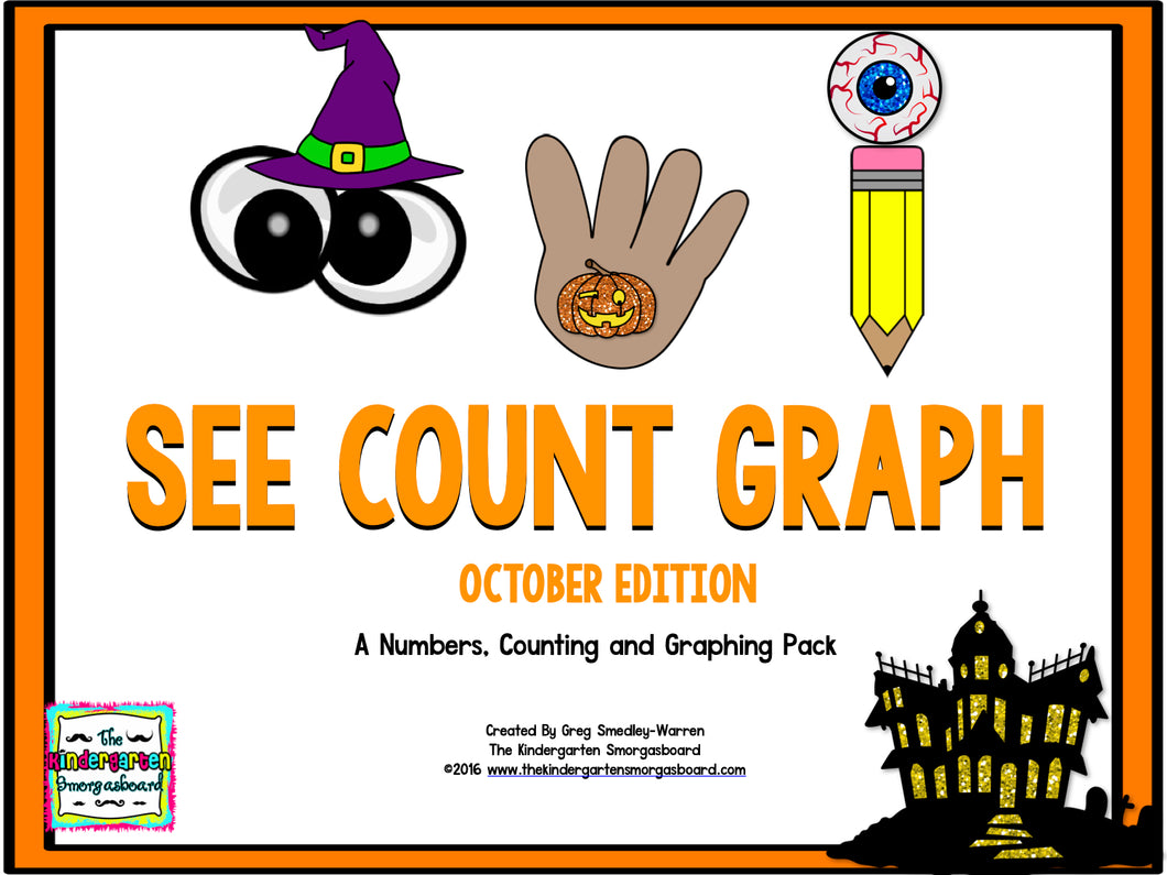 See, Count, Graph: October Edition