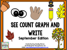 See, Count, Graph: September Edition