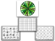 Shamrock Numbers & Counting Puzzles
