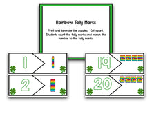 St. Patrick's Day Math and Literacy Centers