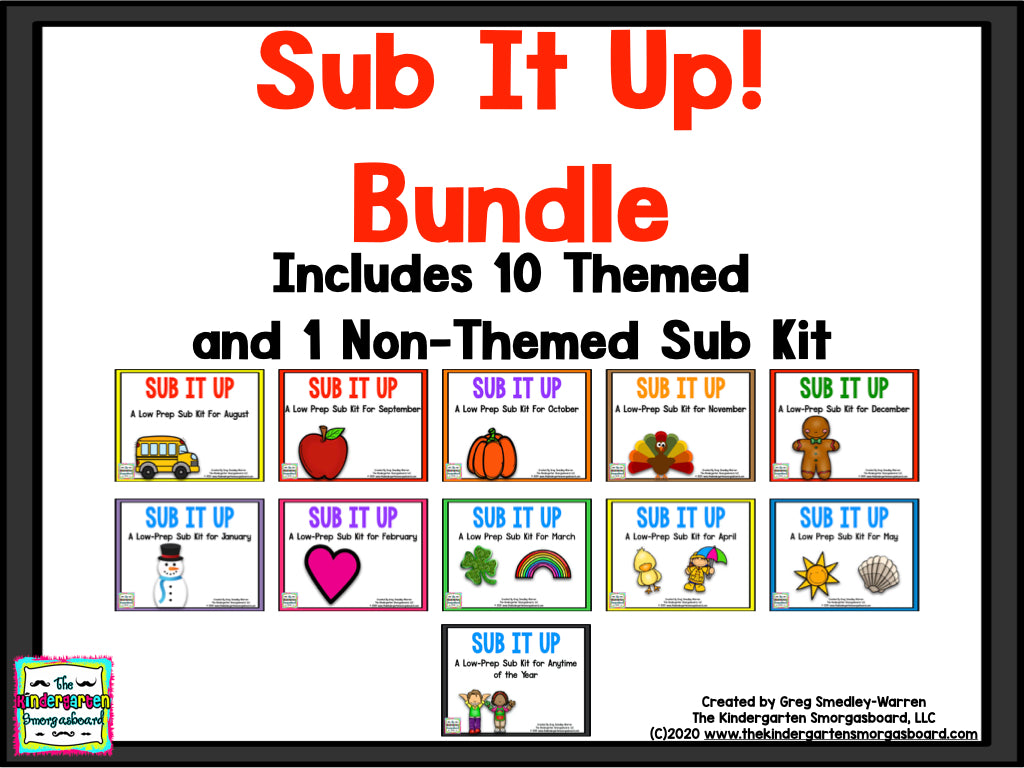 Sub It Up! BUNDLE