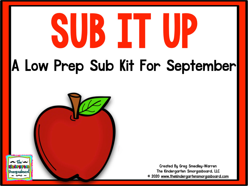 Sub It Up! September