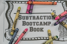 Subtraction: Subtraction Bootcamp Army Theme