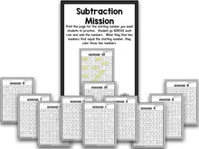 Subtraction Bootcamp: Subtracting to 10 (No Theme)