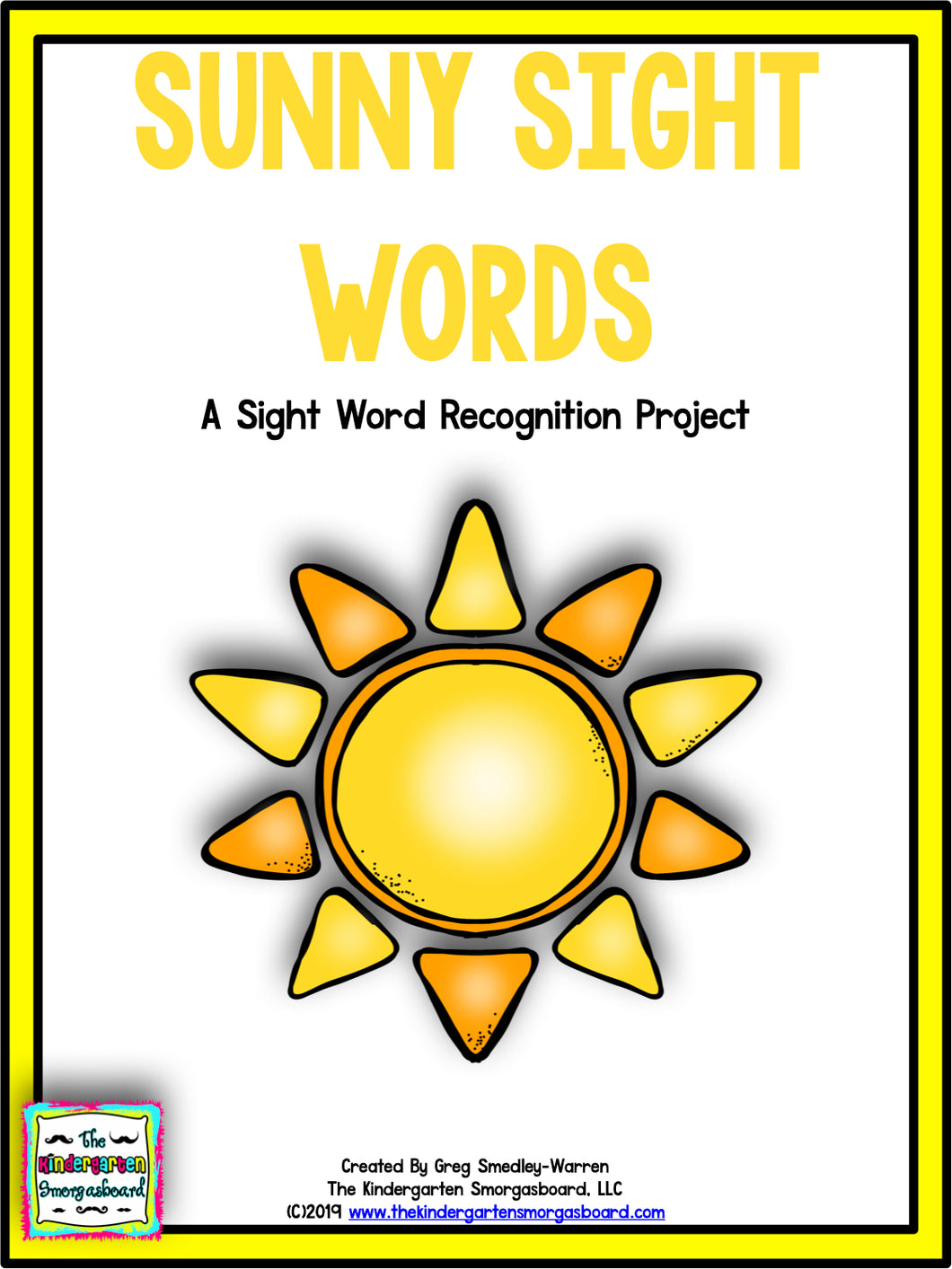 Sunny Sight Words Recognition Project