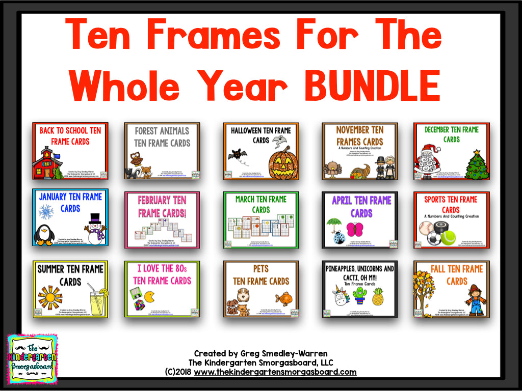 Ten Frames for the Whole Year!
