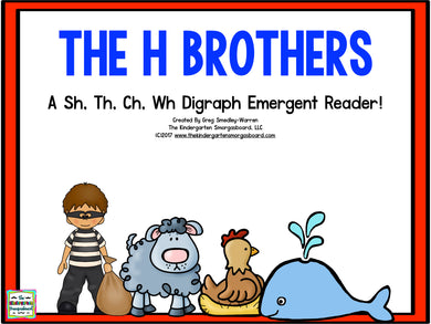 The H Brothers! Emergent Reader