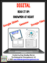 Digital Read It Up! Snowmen At Night