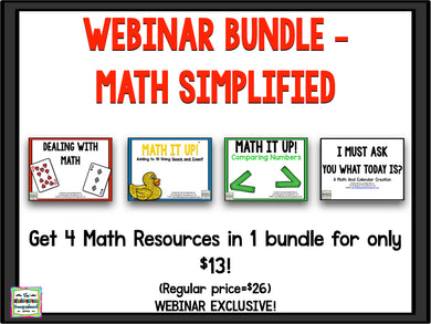 Webinar Bundle - Math Simplified