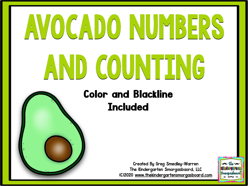 Avocado Numbers and Counting