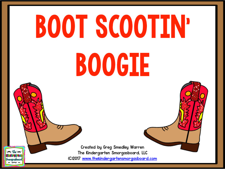 Boot Scootin' Boogie: Country Music Math and Literacy Centers