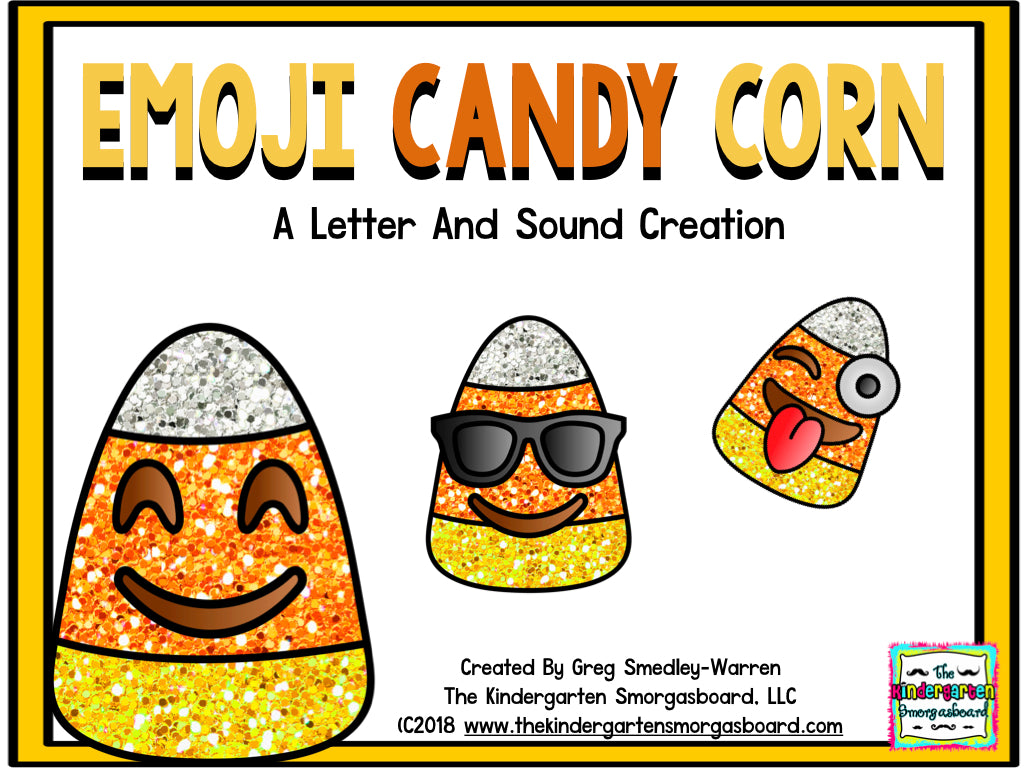 Candy Corn Emoji Letters and Sounds