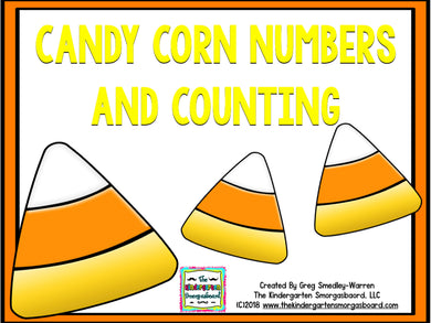 Candy Corn Numbers and Counting