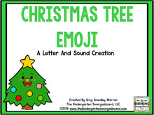 Christmas Tree Emoji Letters & Sounds