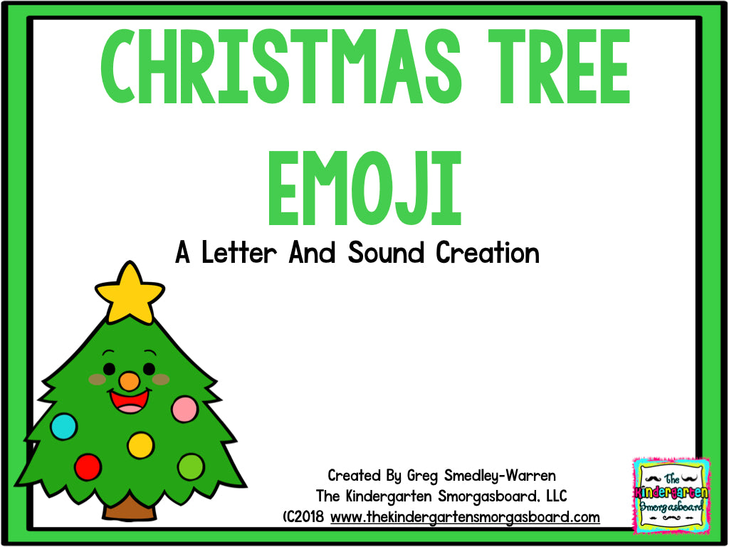Christmas Tree Emoji.Christmas Tree Emoji Letters And Sounds