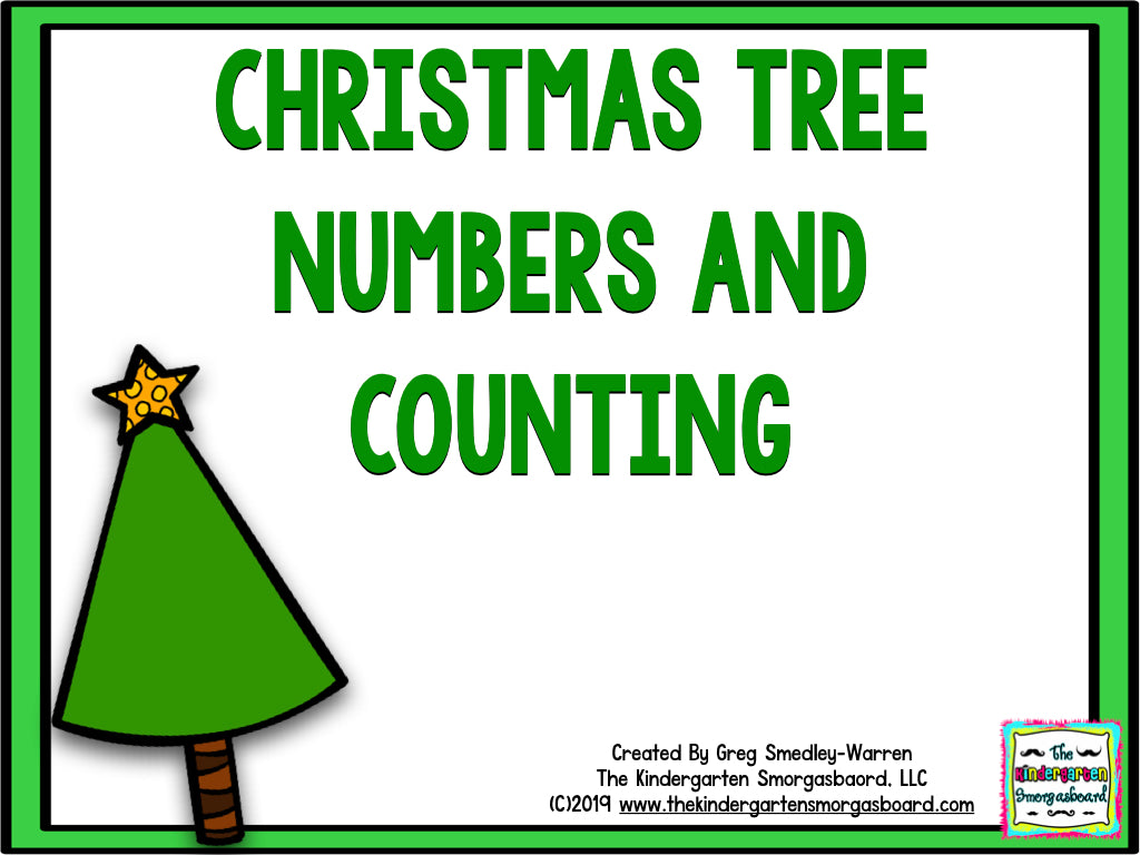 Christmas Tree Numbers & Counting