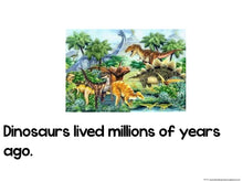 Dinosaurs! Emergent Reader