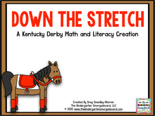 Down the Stretch: Kentucky Derby Math and Literacy Centers