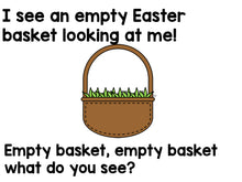 Easter Bunny, Easter Bunny, What Do You See? Emergent Reader