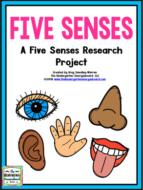 Five Senses: A Research and Writing Project
