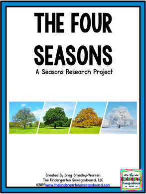 The Four Seasons: A Research and Writing Project