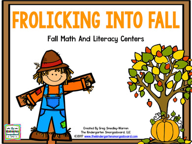 Fall Math And Literacy Centers - Frolicking Into Fall!