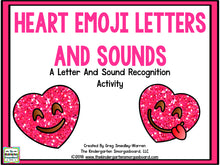 Heart Emoji Letters & Sounds