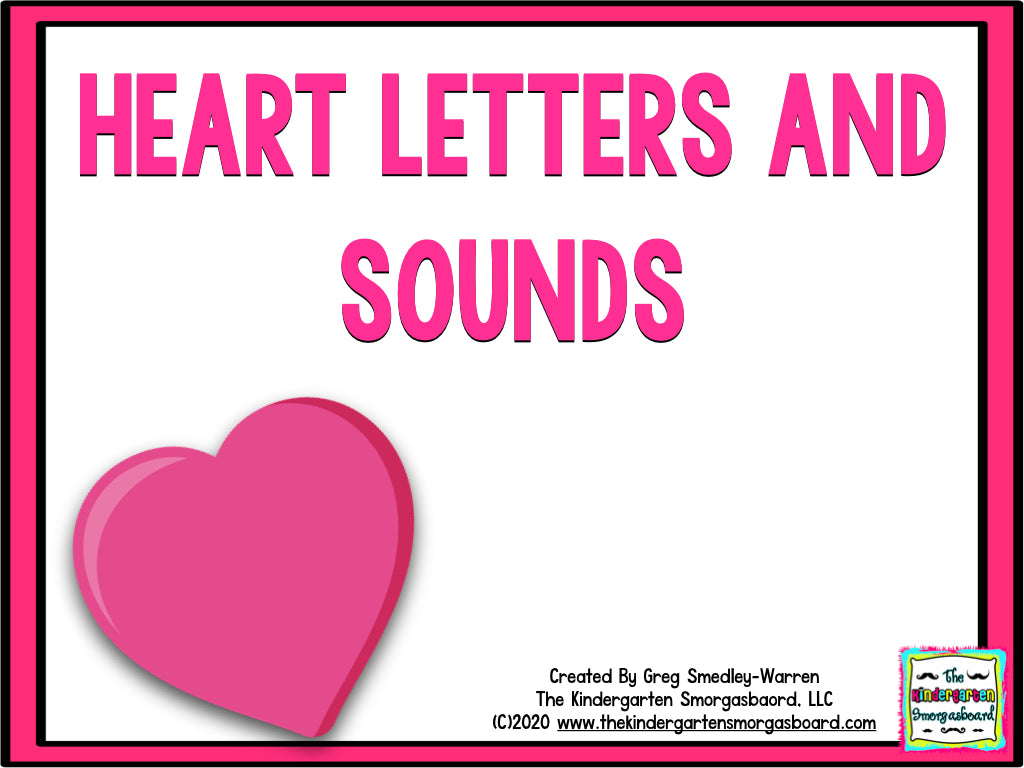 Heart Letters and Sounds