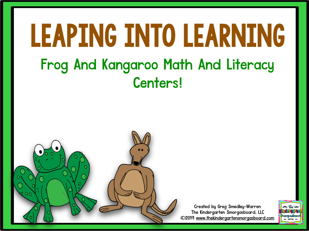 Leaping Into Learning - Leap Day Centers