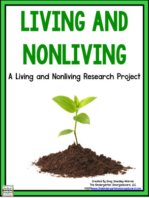 Living and Nonliving: A Research and Writing Project