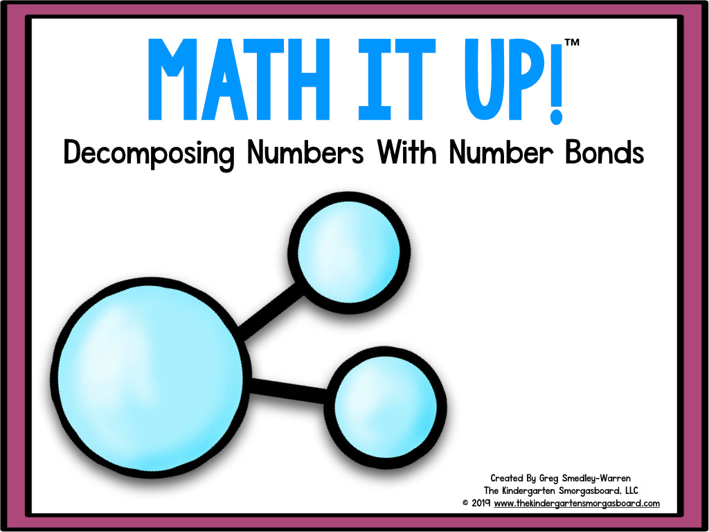 Math It Up! Number Bonds