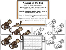 Math It Up! Subtracting Monkeys